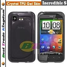 HTC Incredible S TPU Rubber Case - Black