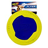 Nerf Dog Megaton Disc Dog Toy, Lightweight, Durable and...