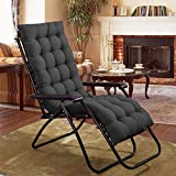 Material: Polyester with finest microfiber filling Size: 48 x 16 inches, product type: chair pad/ cushion Package Includes: 1 Chair Pad This natural fiber lets your skin breathe. It also absorbs moisture to keep your body temperature stable Care Inst...