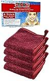 Make up Entferner (microfibra ABSC Discos desmaquillantes–Paños de limpieza facial, pañuelos...