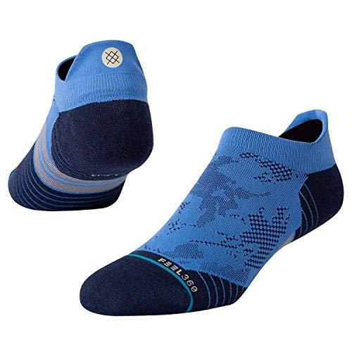 Stance Shatter Tab No Show Socks in Blue (UK 8-12)