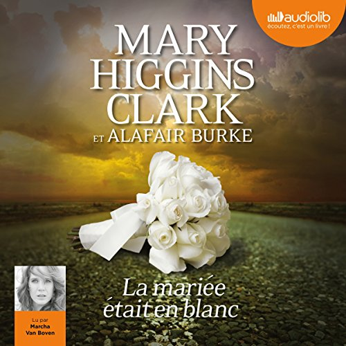 La mariée était en blanc (Laurie Moran 2) audiobook cover art