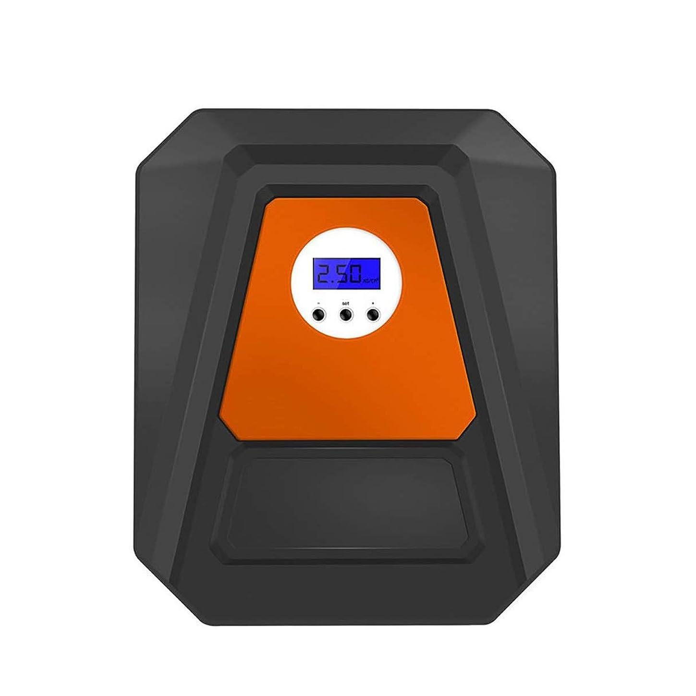 ハッピー広い再生エアコンプレッサー 車用エアポンプ、ポータブルエアコンプレッサー、電動タイヤインフレータ車用インテリジェントLEDライトデジタルLCDディスプレイバイクボール (Color : Style B)