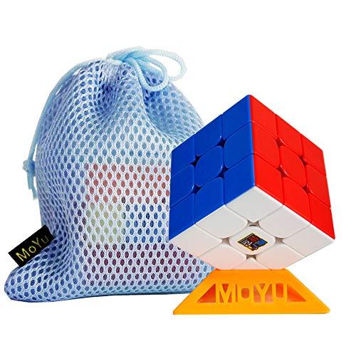 OJIN MoYu MoFang JiaoShi 2020 RS3M Cubo cubo 3x3x3 Classroom 2020 MF3RS3M 3X3 MF3 RS3 M V3 Puzzle cubo con Un treppiede cubo e Una Borsa cubo (Senza Adesivo)