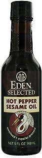 Eden Foods Hot Pepper Sesame Oil, 5 Ounce - 12 per case.