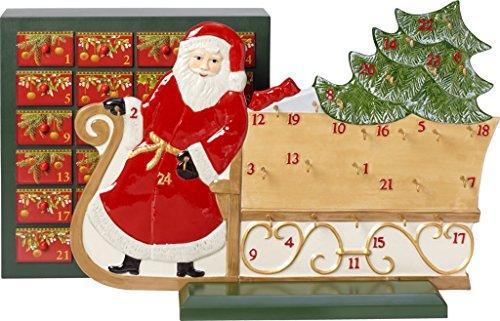 Villeroy & Boch 14-8602-9596 Calendario de Adviento Trineo de Santa Christmas Toys...