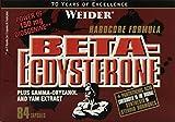 Muskelaufbaumittel -Weider Beta-Ecdysteron, 84 Kapseln, 1er Pack (1 x 97g)