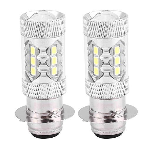 KIMISS 800LM 12V 2 pièces 80W Ampoules de brouillard LED,Ampoule de Phare à DEL à Conversion Lumineuse Super Lumineuse (lumière blanche)
