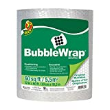 Duck Brand Bubble Wrap Roll, Original Bubble Cushioning, 12' x 60', Perforated Every 12' (287007)