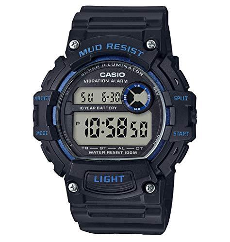 Casio Reloj Digital para Hombre de Cuarzo con Correa en Resina TRT-110H-2AVEF