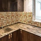 PMSMT 10/20/30 Uds Pegatina de Pared de mármol Mosaico Pegatina para Azulejos calcomanía para Muebles Impermeable Autoadhesivo para baño Cocina decoración del hogar