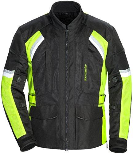 TourMaster Men's Sonora Air 2.0 Jacket (Black/Hi-Viz)