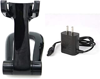Replacement Charging Charger Stand +Power Cord for Philips Bodygroom Groomer TT2040 BG2040 TT2039 (black)