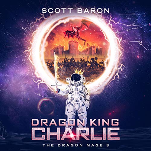 Dragon King Charlie audiobook cover art