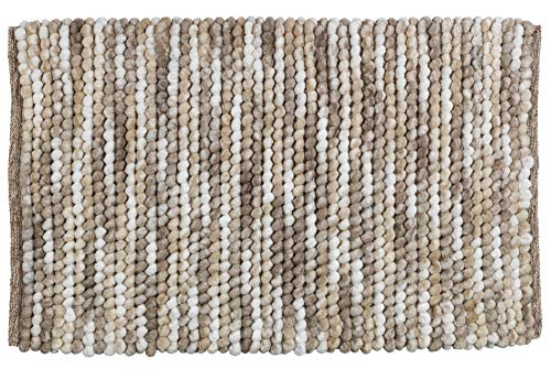 Wenko badmat Polyester 90 x 60 cm Bruin