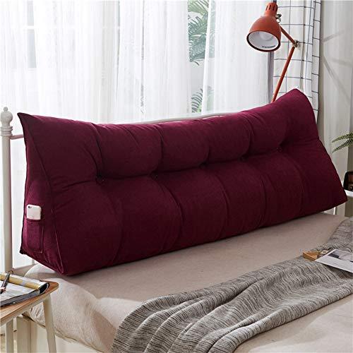 WRHH - Almohada de espuma de alta calidad para adultos, adolescentes y niños, para descansar en la cama, brazos y espalda (ampliar)