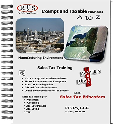 Sales Tax on Manufacturing Purchases in New York (Exempt and Taxable Purchases)