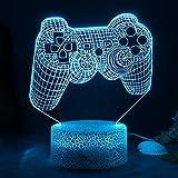 ZWOOS Lampara Gaming - Gaming Luz con Control Remoto - 16 colores - 4...