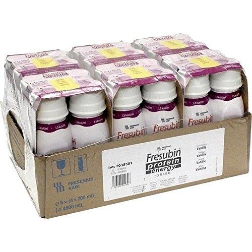Fresenius Kabi Fresubin Protein Energy Drink Vanille Trinkflasche, 6 x 4 x 200 ml, 1er Pack (1 x 5,5 kg)