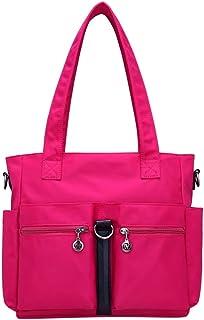 Wultia - Bags for Women Fashion Casual Nylon Single Shoulder Crossbody Bag Totes Waterproof Bags Handbags Bolsa Feminina *0.92 HOT Pink