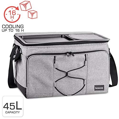 bomoe cool bag opvouwbare IceBreezer KT43 - koelbox voor onderweg - 43x32x28 cm - 45 liter - ook te gebruiken als picknicktas - Perfect voor barbecue of festival