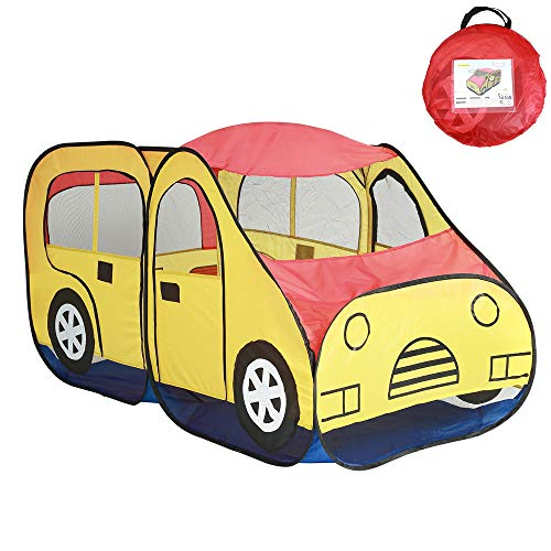 JIAOXM Kids Play Theatre Jeep Carpa