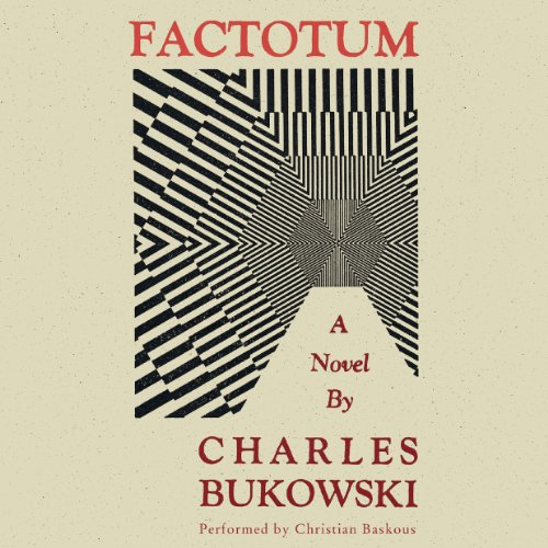 Factotum audiobook cover art