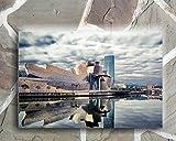 Wayshop | Cuadro Bilbao | Material PVC Forex 5 MM | Medidas 50cm x 40cm | Fácil colocación | Diseño Elegante | Impresión Digital Multicolor (1 Unidad)