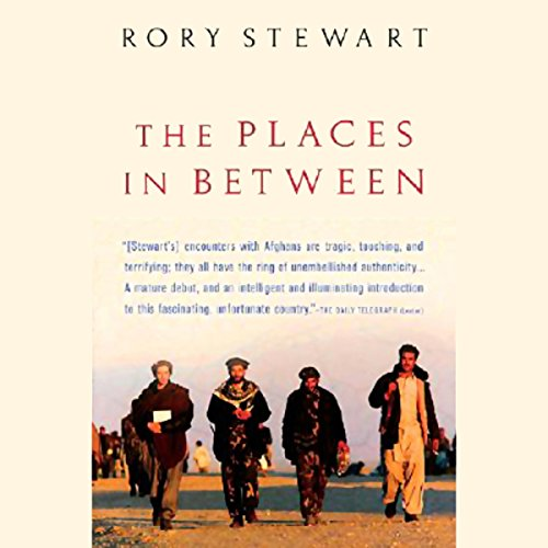 The Places in Between  audiobook cover art