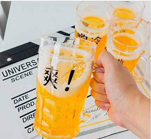 Gwill 1 taza de cerveza de doble pared creativa broma con gran capacidad 13 onzas regalo de cumpleaños