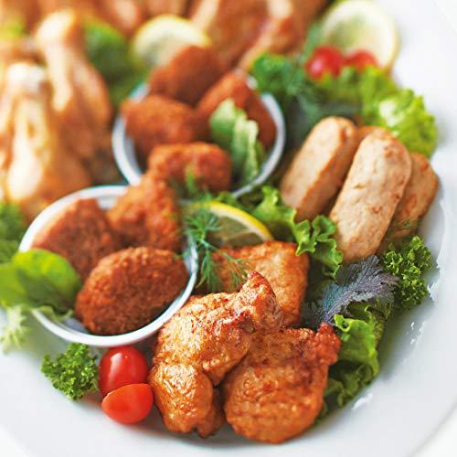 みつせ鶏本舗 みつせ鶏 パーティーセット みつせ鶏から揚げ塩味 170g、みつせ鶏蓮根かさね揚げ(あおさ入り) 189g、みつせ鶏タレ焼きだんご 220g、みつせ鶏ごま南蛮(タルタルソース付き) 210g、みつせ鶏ささみの丸ごとカツ 200g、みつせ鶏山賊