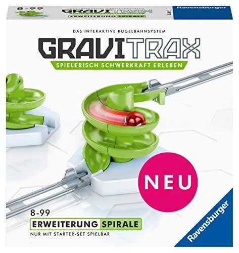 Ravensburger 26811 GraviTrax Kugelbahn - Erweiterung Action-Stein Spirale, Green