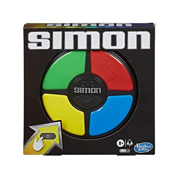 Simon Game; Electronic Memory Game for Kids Ages 8 and Up; Handheld Game with Lights...