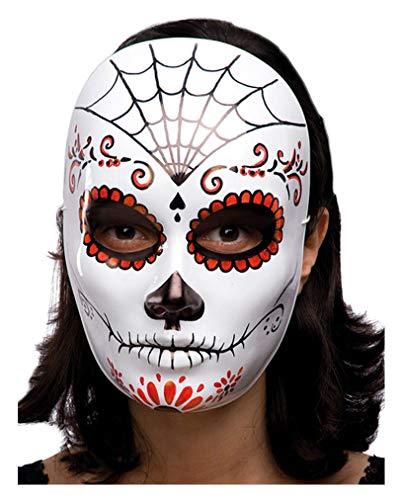 Horror-Shop Mexikanischer Totenschädel Maske