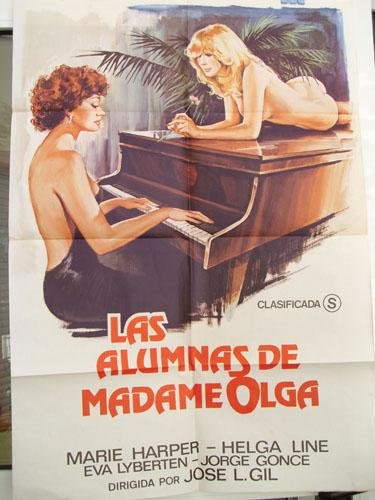 Cartel cine - Movie Poster : LAS ALUMNAS DE MADAME OLGA - Original