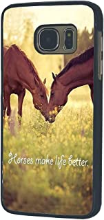 Galaxy S7 Case,Horse Theme Durable Hardshell Case for Samsung Galaxy S7 Case