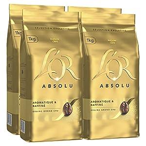 Café en grains Aromatique et Raffiné 100% Arabica Café en grains idéal pour les machines à expresso automatiques ou pour les moulins traditionnels (manuels ou électriques)