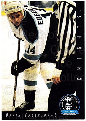 (CI) Devin Edgerton Hockey Card 1993-94 Atlanta Knights 9 Devin Edgerton