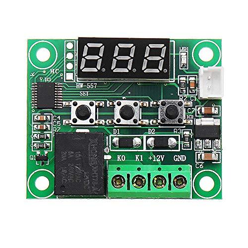 Módulo electrónico W1209 DC 12V -50 Al interruptor de control 110 la temperatura del termostato Termómetro 3Pcs Equipo electrónico de alta precisión