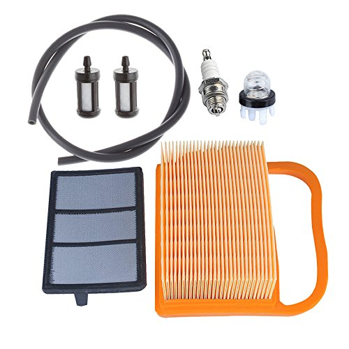 Hipa 4238 140 4401 Air Filter with Primer Bulb Fuel Tune Up Kit for STHIL Concrete Cut Off Saw TS410 TS410Z TS420 TS420Z