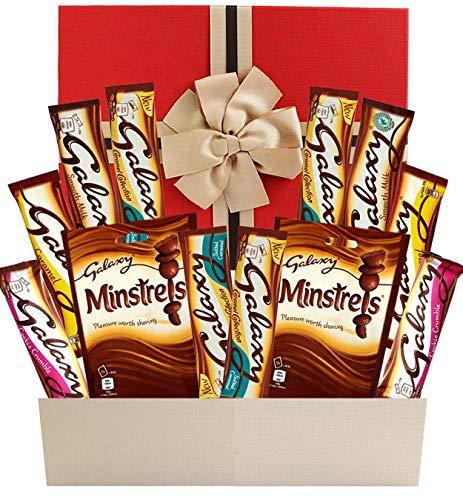 Galaxy Chocolate Selection Geschenkbox Perfekter Last-Minute-Schokoladen-Geschenkkorb für alle Gelegenheiten