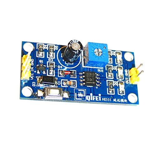 MagiDeal Ne555 Dc 5-12v Verzögerung Relais Schild Timer Schalter Modul 0-120 Sekunden Einstellbar