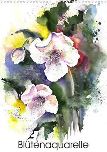 Blütenaquarelle (Wandkalender 2022 DIN A3 hoch)