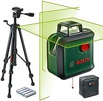 Bosch Laser Level AdvancedLevel 360 ze statywem (zasięg pracy: do 24 m, automatyczna niwelacja: do maks. ± 4°, zielony...