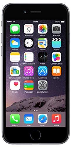 """Apple iPhone 6, 4,7"""" Display, 16 GB, 2014, Space Grau"""