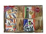 Coffret 4 mini livres cuisine du monde