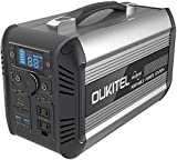 OUKITEL Portable Power Station, 500W Outdoor Solar Generator, 614Wh Mobile Lithium Battery Pack