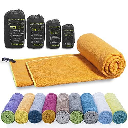 LightDry Asciugamano sportivo a zaino in microfibra per uomini e donne