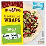 Old El Paso Tortillas de Trigo Wrap, Pack de 6 Unidades, 350g