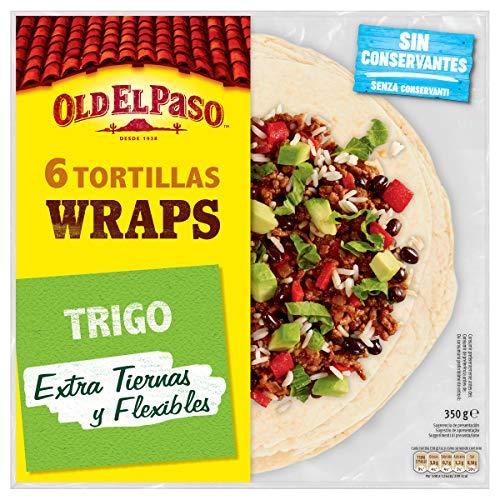 Old El Paso Tortillas de Trigo Wrap, Pack de 6